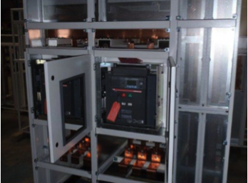 Showing Incoming Cables Terminals to suit specified cable lugs